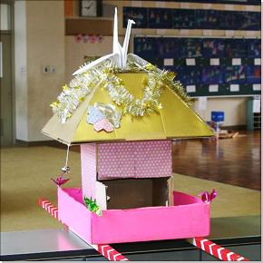 子供神輿 作り方の画像 : 子どもの工作 : すべての講義